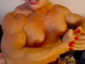 Dominant FBB Pecs And Biceps Flex