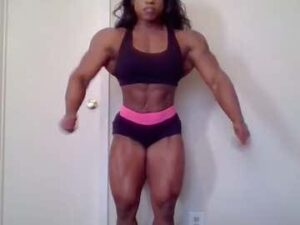 Ebony Female Bodybuilder Live Cam