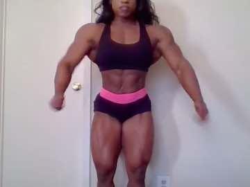 Ebony Female Bodybuilder Live Cam