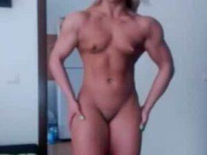 Euro Teen Female Bodybuilder Cam
