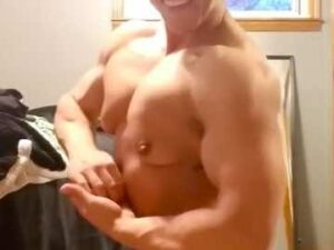 Young FBB Posing Completely Naked
